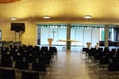 Kerkzaal 400 zitplaatsen