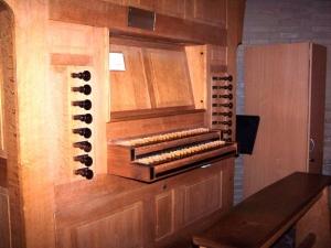 Orgel registers en speelt